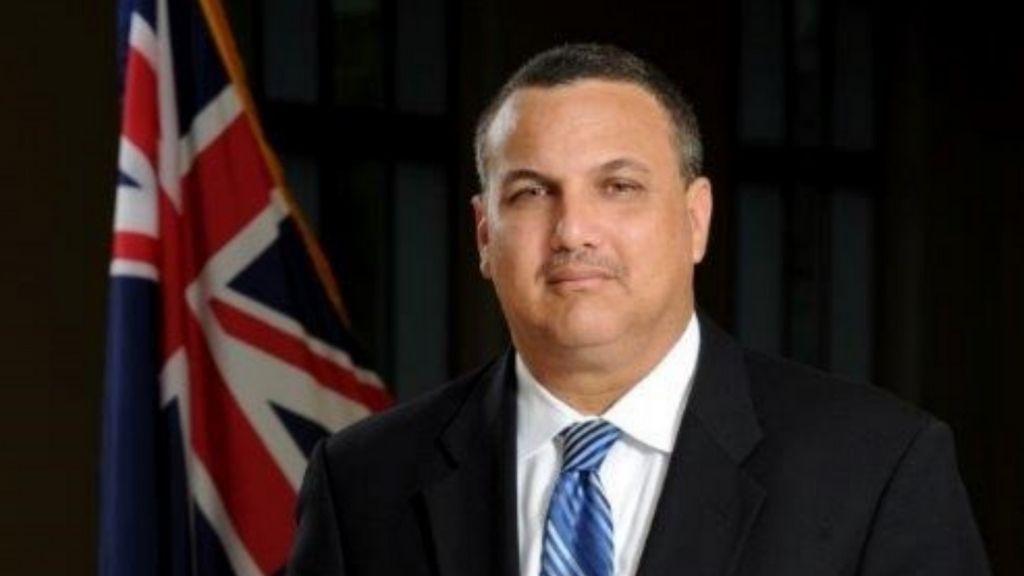 Deputy Governor, Hon. Franz Manderson