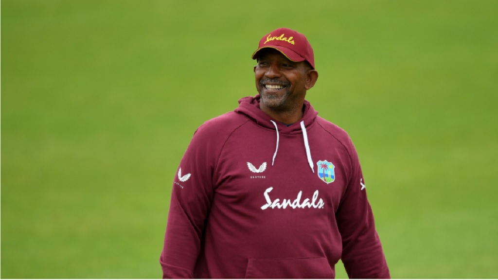 West Indies head coach, Phil Simmons.