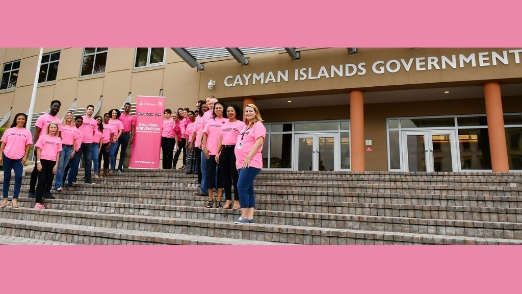 Civil servants and members of the Business and Professional Women's Club of Grand Cayman