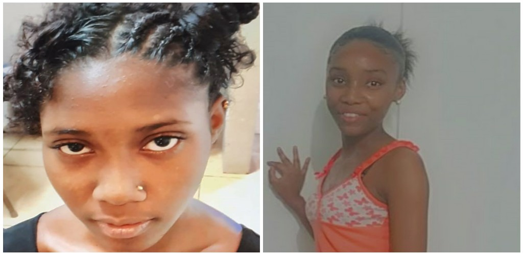 Pictured: Wendy St Bernard (Left) and Kayla Bengochea (Right) (Photo credit: Trinidad and Tobago Police Service)