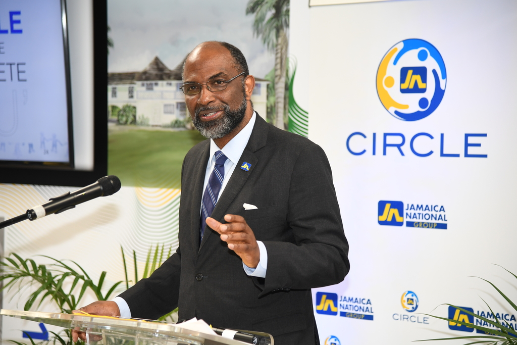 CEO of the Jamaica National Group, Earl Jarrett