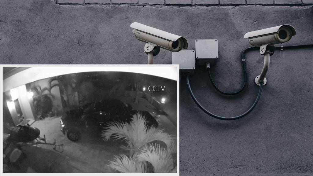 See CCTV footage below of the prowler