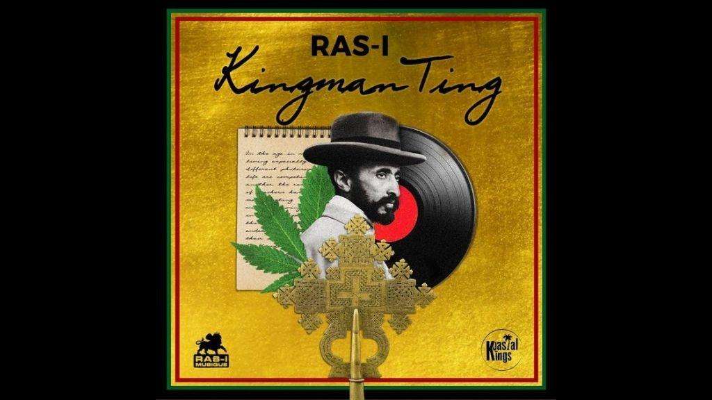 Artwork for Kingman Ting, the new release from Ras-I. (Photos: DownDiRoadJa)