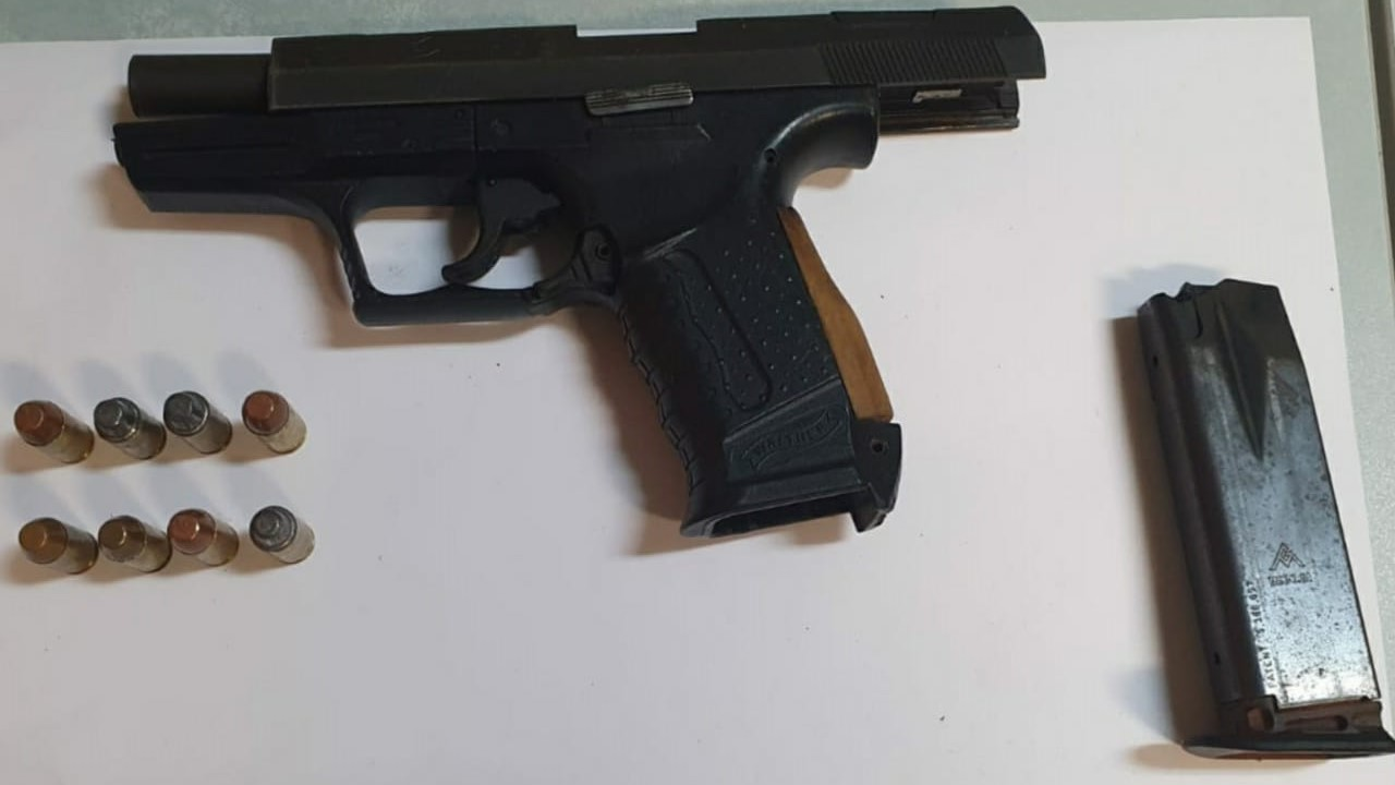 This firearm and corresponding ammunition was seized by police this week.