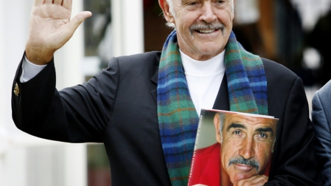 L'acteur Sean Connery, le 25 août 2008 à Edimbourg Ed JONES AFP/Archives