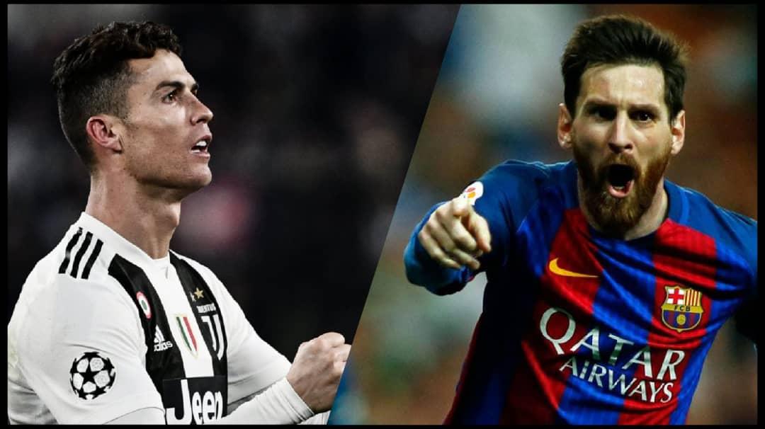 A gauche, Cristiano Ronaldo; à droite, Lionel Messi/ Crédit photo: AFP/ Collage: Loop Haiti