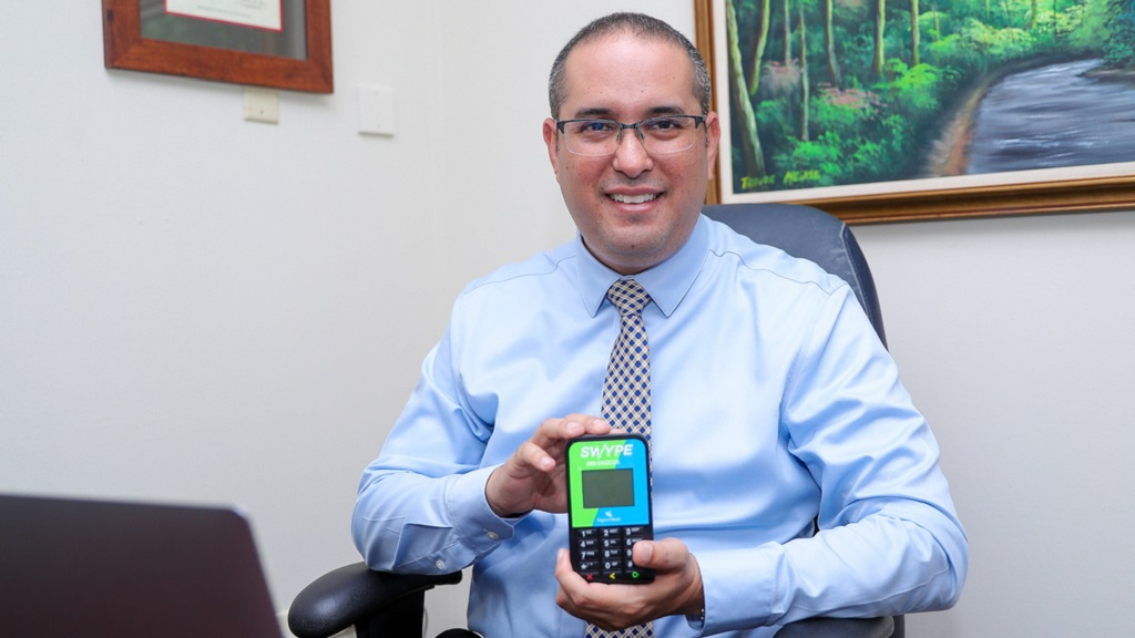 Kevin Chin Shue, Assistant Vice President of Sagicor Bank – Payments, said this step represents the bank's overall commitment towards improving the security of transactions for merchants and users.