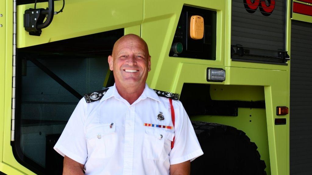 Chief Fire Officer Paul Walker, QFSM