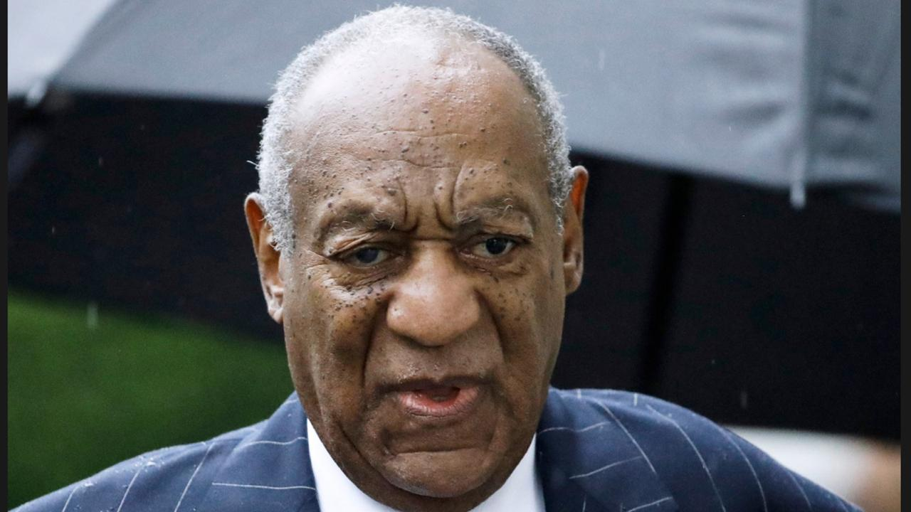 In this September 25, 2018, file photo, Bill Cosby arrives for a sentencing hearing following his sexual assault conviction at the Montgomery County Courthouse. (AP Photo/Matt Rourke, File)