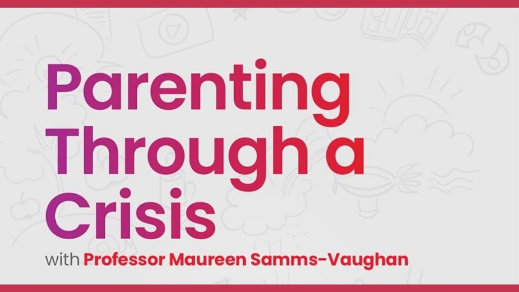 Professor Maureen Samms-Vaughan (below) led a discussion on parenting recently, Loop Lifestyle was present and therefore had to share some parenting tips.