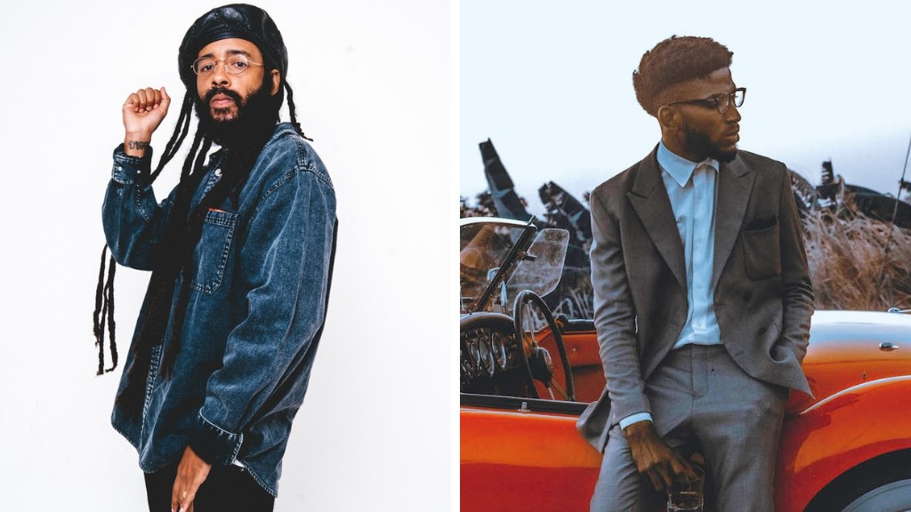 Protoje, left, and Jimmy October on right.