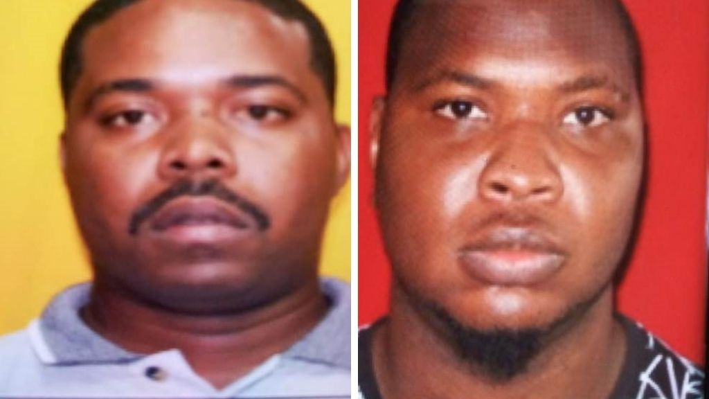 Photo: PC Nicholas Roberts (left), Tevin Morrison (right). Photos courtesy Trinidad and Tobago Police Service.