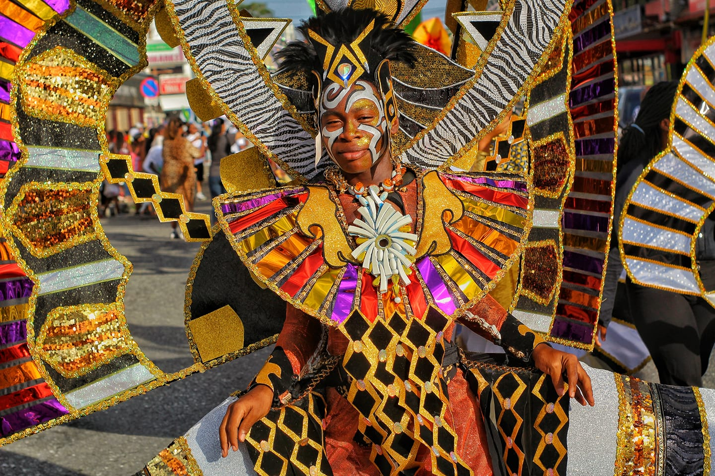 FILE Photo: A masquerader playing mas at Kiddie's Carnival. The Red Cross Children's Carnival will hold a virtual design competition in 2021.