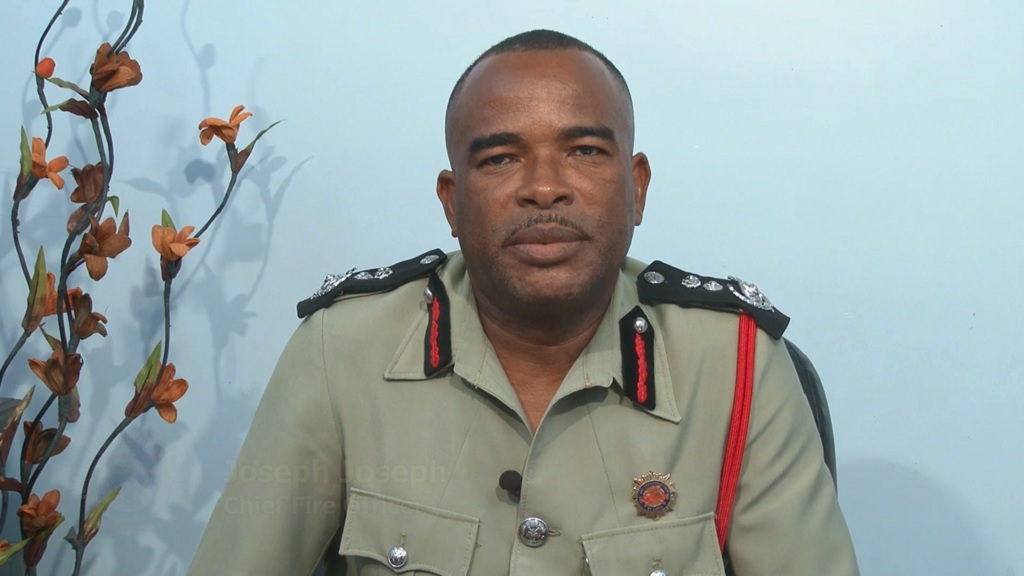 Chief Fire Officer Joseph Joseph