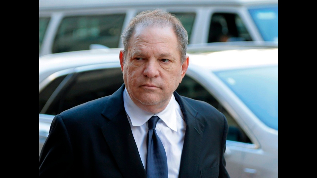 In this July 9, 2018 file photo, Harvey Weinstein arrives to court in New York. 