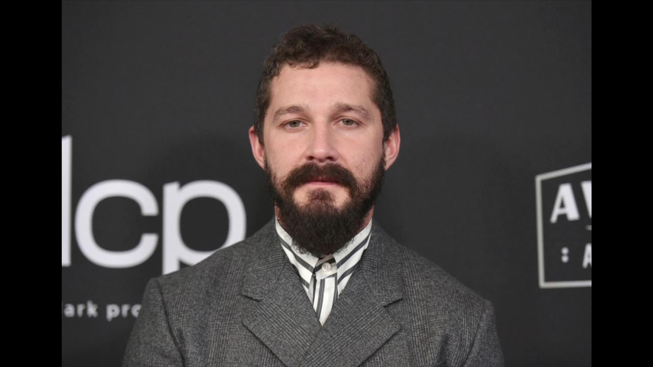 In this November 3, 2019, file photo, Shia LaBeouf arrives at the 23rd annual Hollywood Film Awards at the Beverly Hilton Hotel in Beverly Hills, California. (Photo by Richard Shotwell/Invision/AP, File)