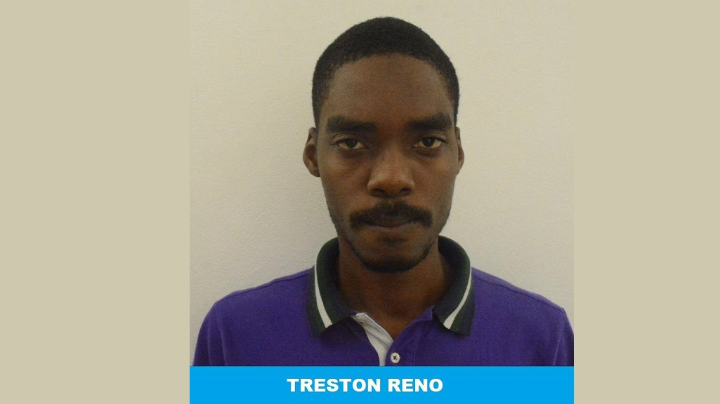 Photo: Treston Reno was arrested and charged for the murder of Alveion 'Crime Boss' Nurse. Photo: TTPS