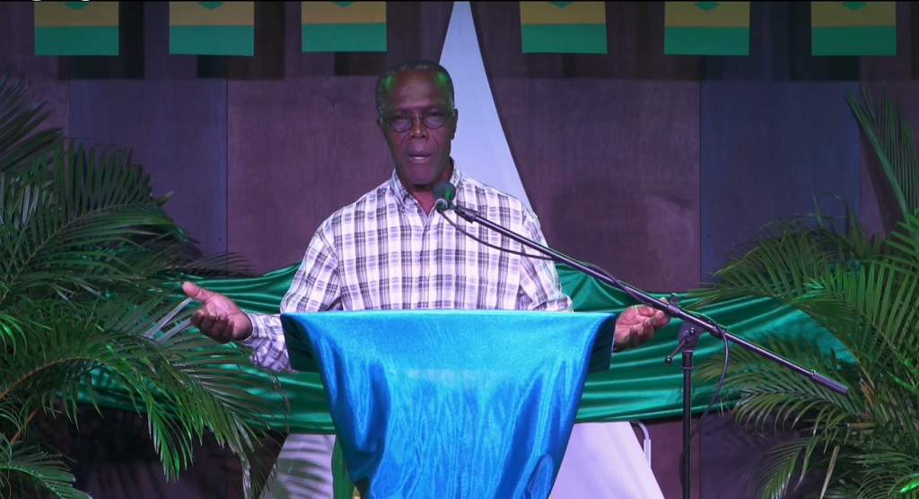 Dr Reynold Murray, president of the Association of Evangelical Churches in St Vincent and the Grenadines.