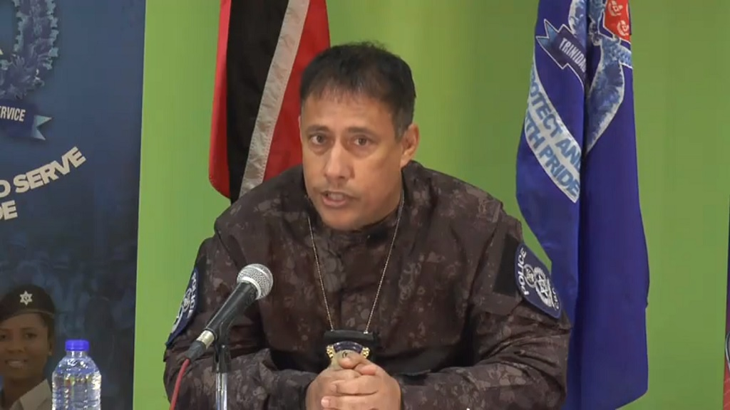 File photo: Police Commissioner, Gary Griffith