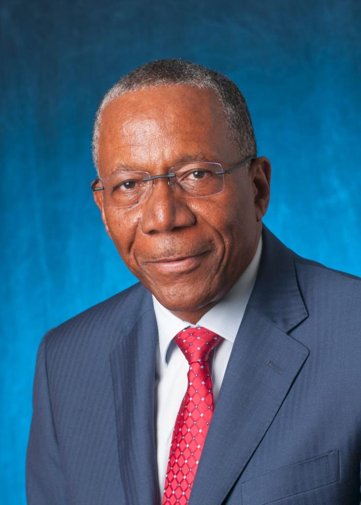 Barbados' new Chief Justice, Queen's Counsel Patterson Cheltenham.