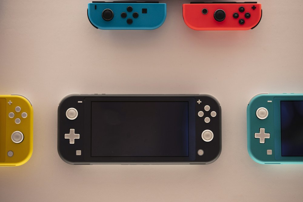 Nintendo Switch game consoles are on display at Nintendo's official store in the Shibuya district of Tokyo. Time spent playing video games can be good for mental health, according to a new study by researchers at Oxford University. The finding comes as video game sales this year have boomed as more people are stuck at home because of the pandemic and many countries have once again imposed limits on public life. (AP Photo/Jae C Hong)