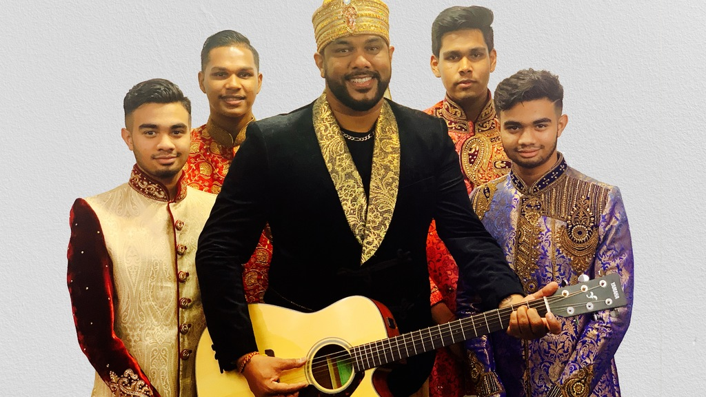 G3, a band comprising Raymond's sons and nephews, will perform at Divali Nadan on Sunday, November 8.