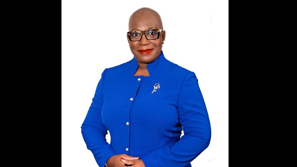 Minister of Education Hon Dr Gale Rigobert