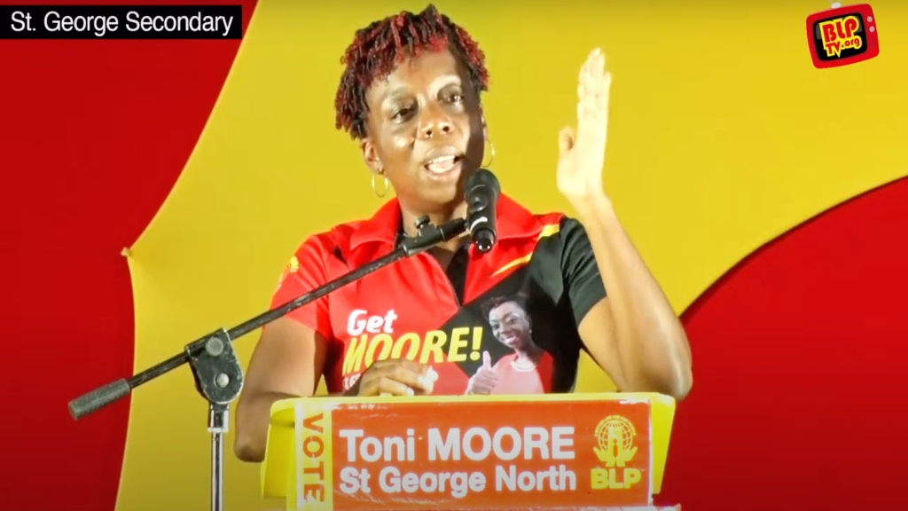 Barbados Labour Party candidate for St George North, Toni Moore.
