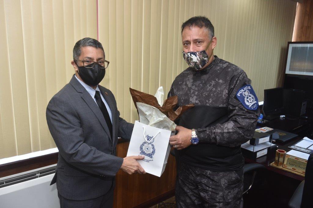 Photo courtesy Trinidad and Tobago Police Service.