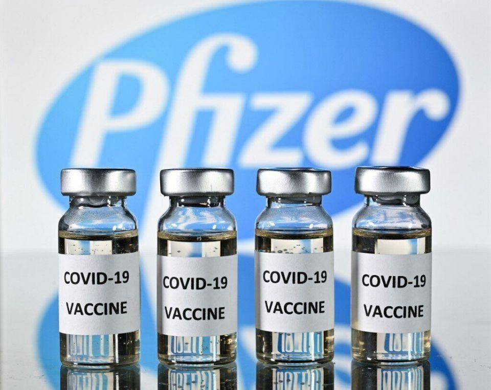 Selon les données finales communiquées par Pfizer, leur vaccin est finalement efficace à 95%. (Photo: JUSTIN TALLIS / AFP)