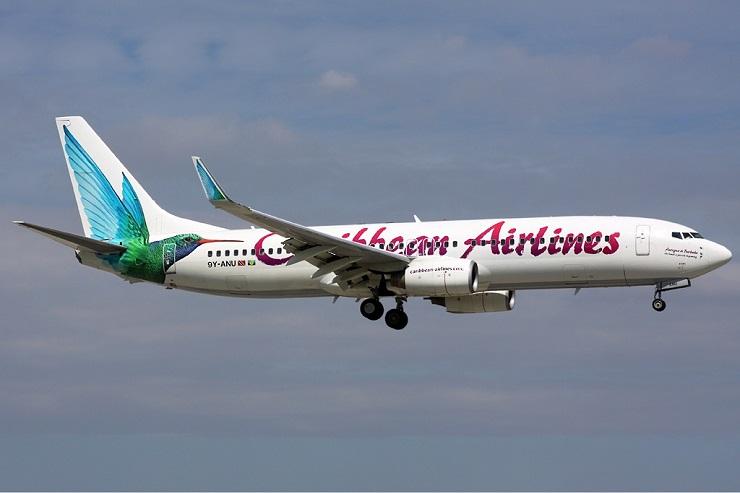 Caribbean Airlines flight