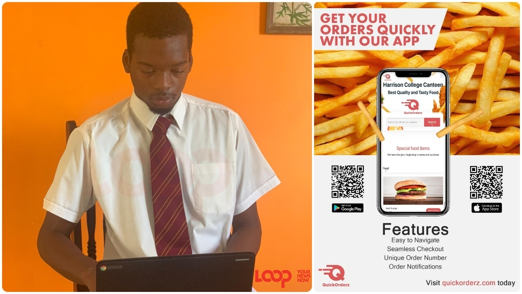 Jason Stephney is the brains behind the QUICKORDERZ app