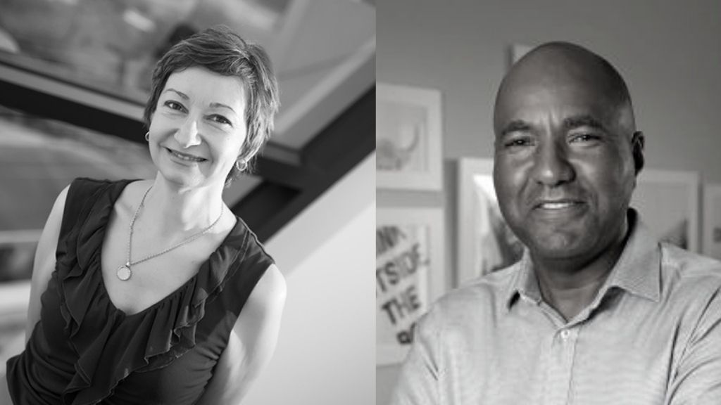 Ms Angele Mele, Founder of RiskPass AML+Compliance Ltd. and Mr Paul Byles, Director of FTS