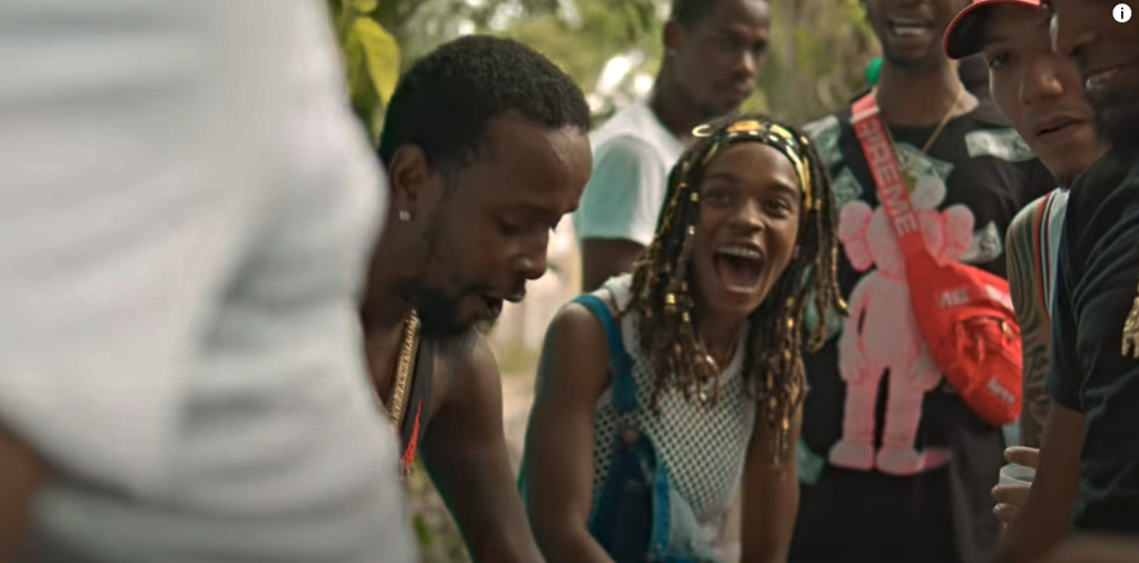 Popcaan and Koffee in Lockdown music video.
