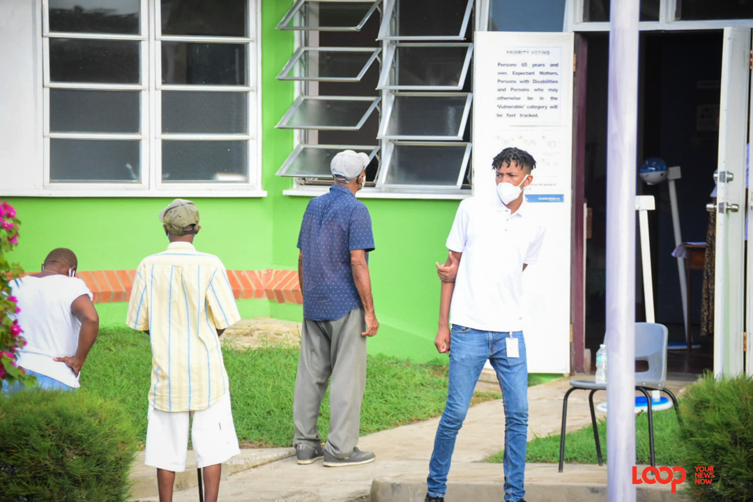 (FILE) St George North voters lined the polling stations on Wednesday.