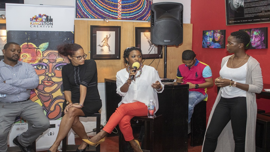 JAMPRO Film Commissioner, Renee Robinson, Speaks at a Kingston Creative MeetUp. JAMPRO will give ten creative entrepreneurs the opportunity to pitch their business concepts to potential investors with the hopes of raising much-needed funds to kick-start their projects.
