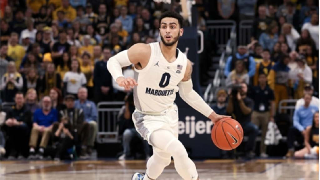 Ex-Marquette guard Markus Howard.