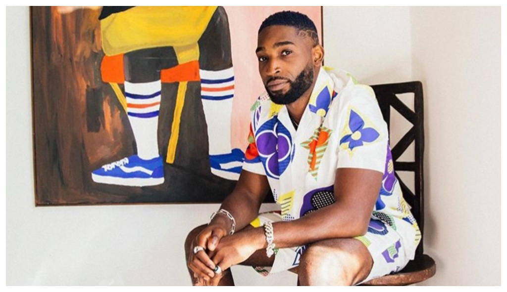 (Instagram) British rapper Tinie Tempah