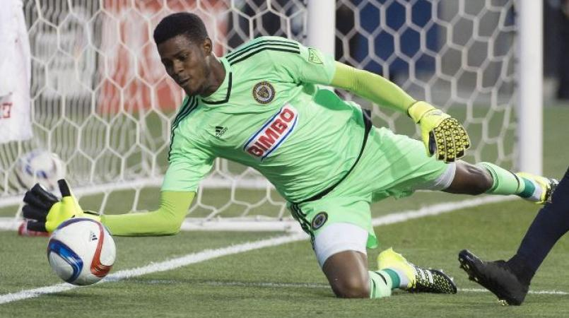 Philadelphia Union and Jamaica goalkeeper Andre Blake.