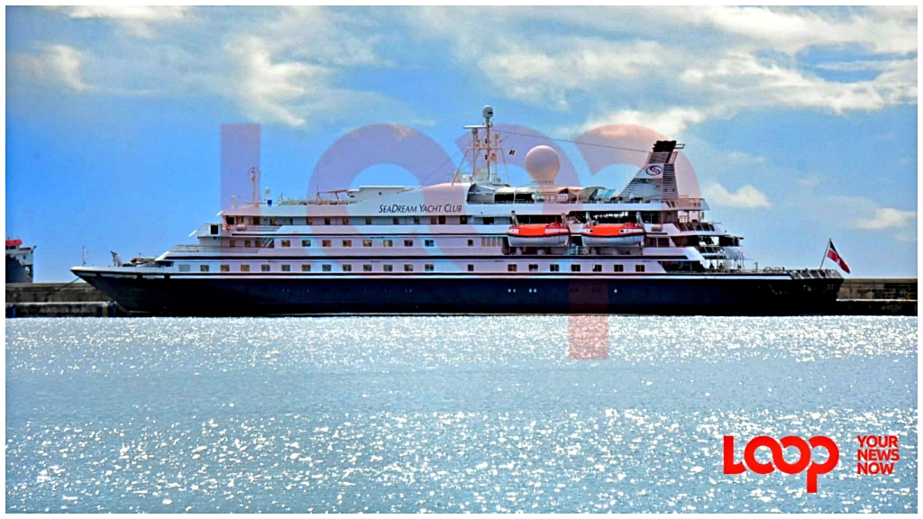 SeaDream in Bridgetown Port today, November 13.