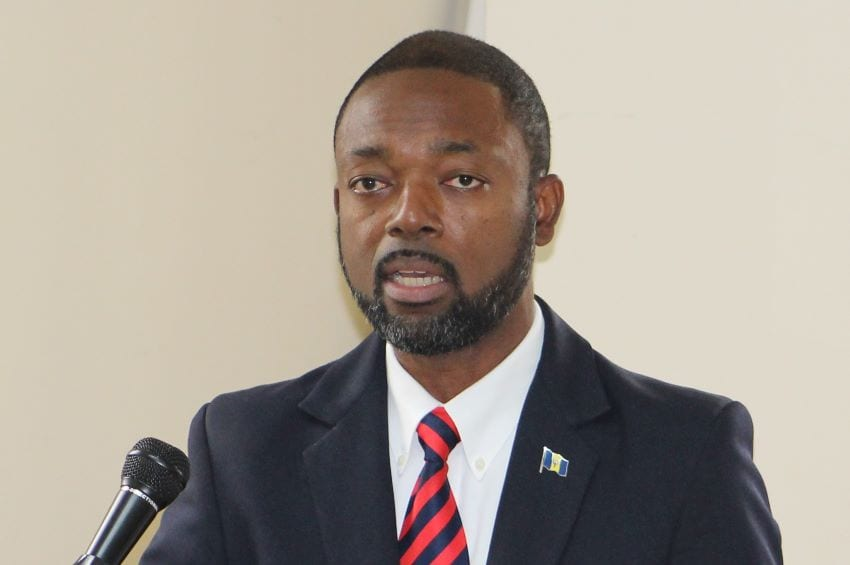 (FILE) Minister of Labour and Social Partnership Relations, Colin Jordan.