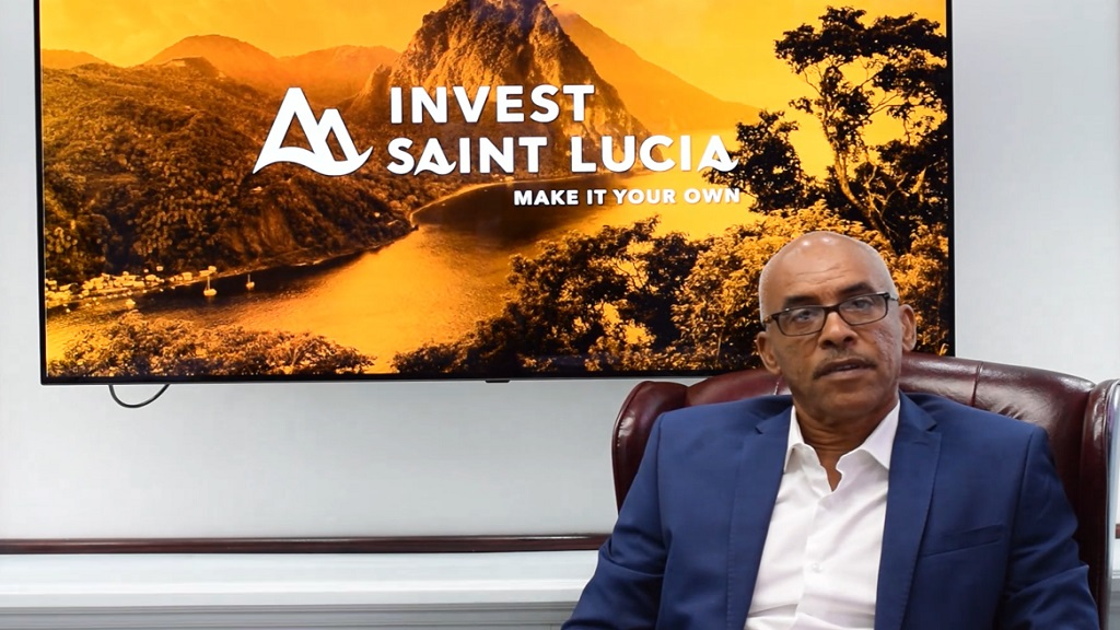Chairman of Invest Saint Lucia, Pinkley Francis
