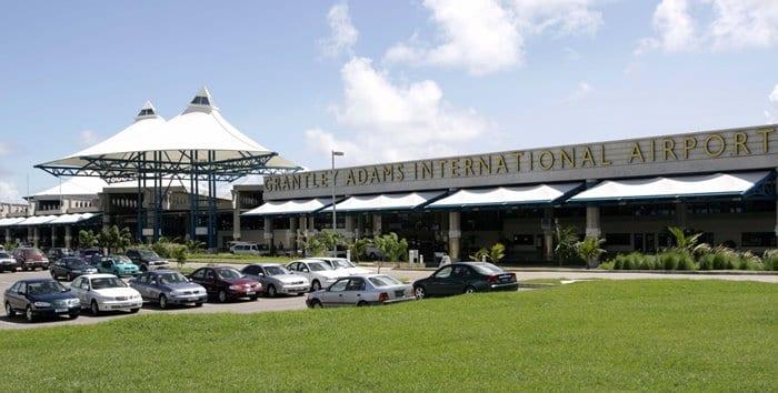 Grantley Adams International Airport (FILE)