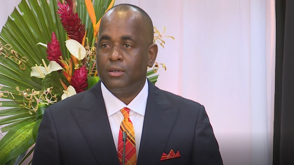 Dominica's Prime Minister Roosevelt Skerrit. Photo courtesy Dominica's government website.