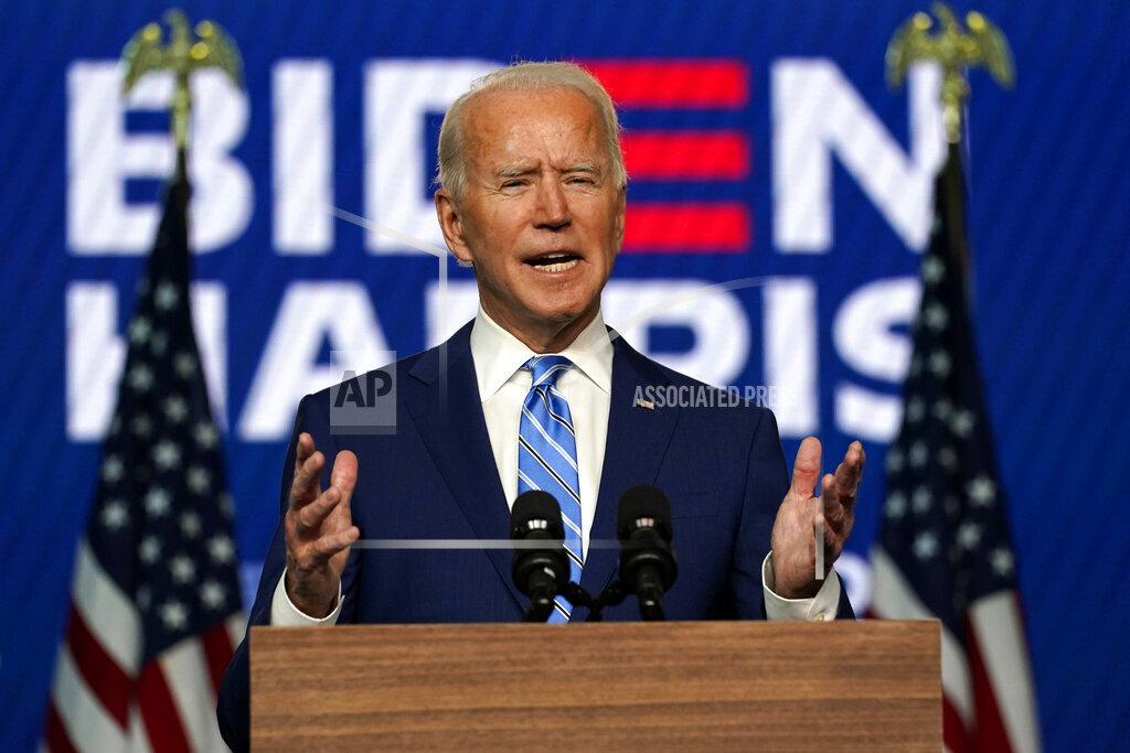 United States President-elect, Joe Biden.