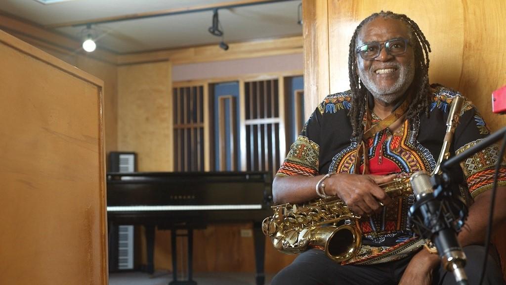 Saxophonist Dean Fraser.