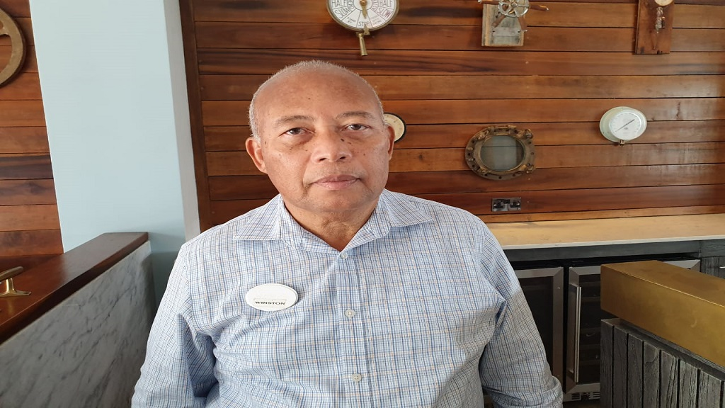 General Manager of Sandals Grande Saint Lucia, Winston Anderson