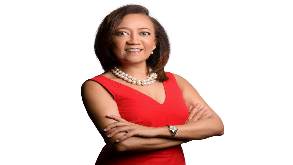 Dianne Ashton-Smith, Red Stripe's head of corporate affairs.