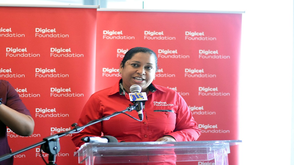 Charmaine Daniels, CEO of Digicel Jamaica Foundation