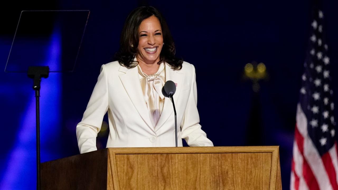 US Vice-president elect Kamala Harris.